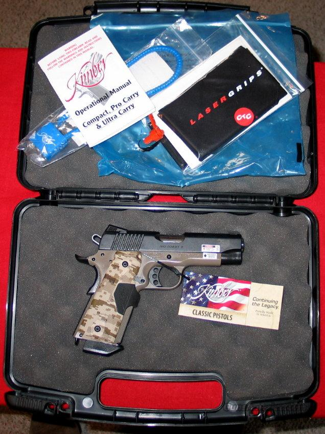 "Pro Covert II, 45acp, 4"" - New in Box  Guns > Pistols > Kimber of America Pistols"
