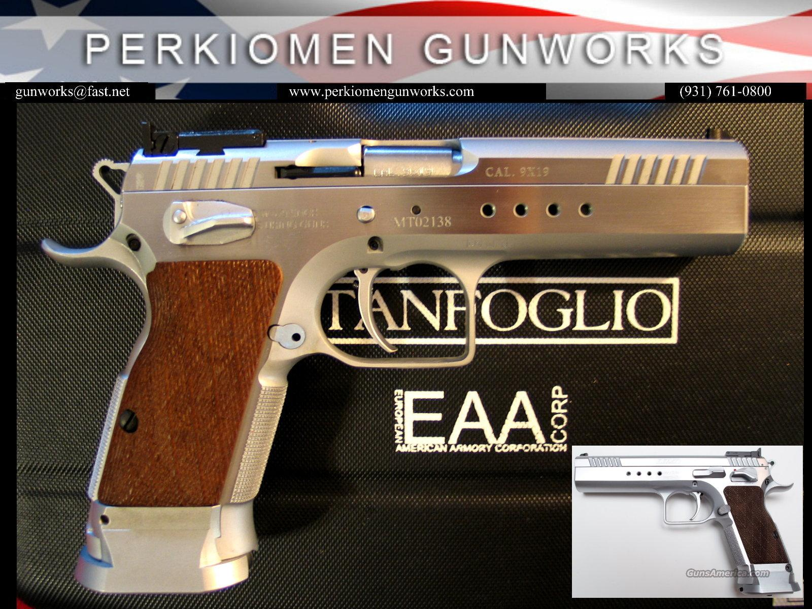 Witness Limited Elite 9mm, stainless, by Tanfoglio-Italy, New in Box  Guns > Pistols > EAA Pistols > Other