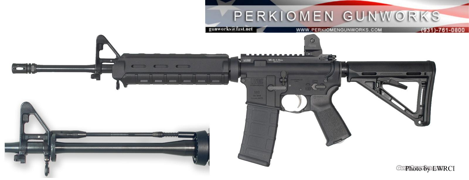 LWRCI M6-SL 5.56 Lightweight - New for 2011  Guns > Rifles > AR-15 Rifles - Small Manufacturers > Complete Rifle