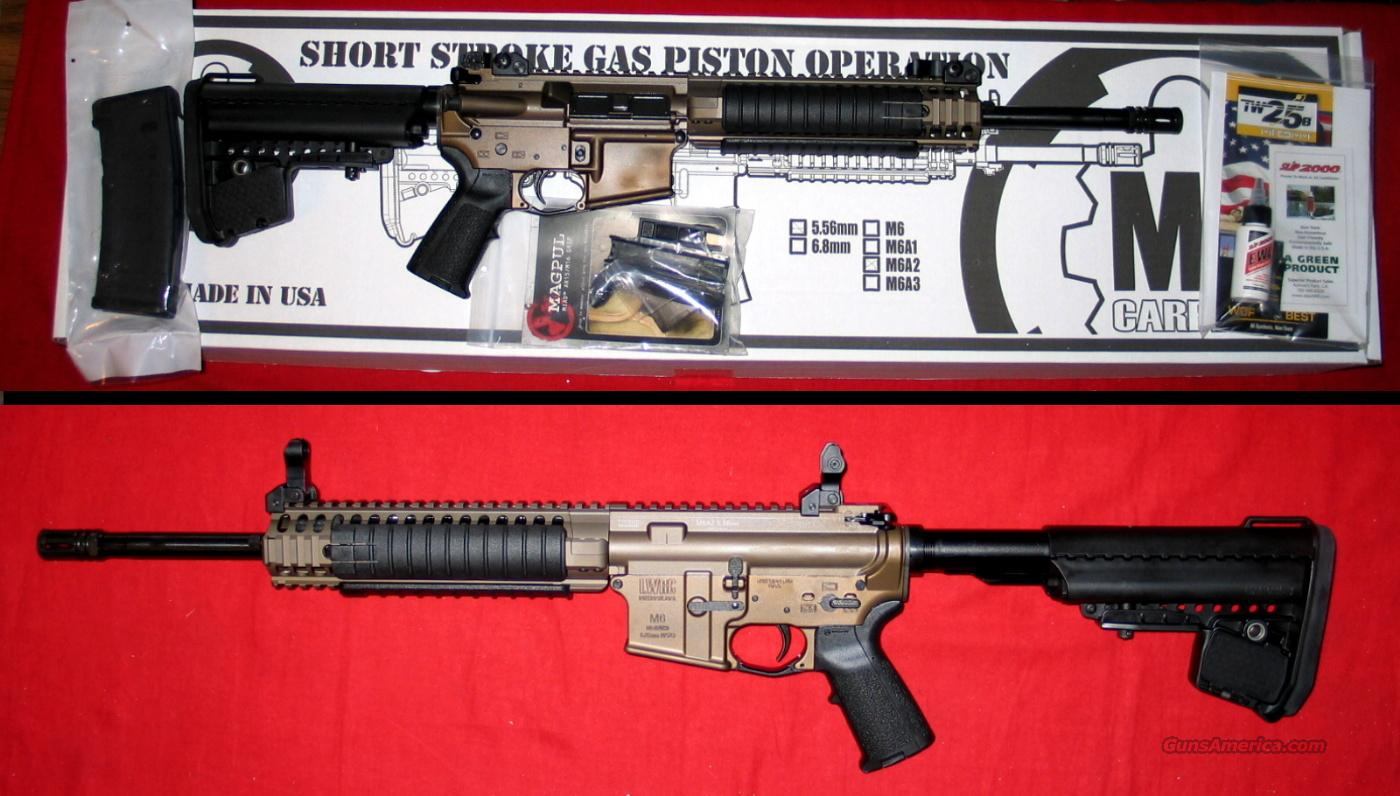 "LWRC M6A2, 14.7"", Coyote finish, 5.56 - NIB  Guns > Rifles > AR-15 Rifles - Small Manufacturers > Complete Rifle"