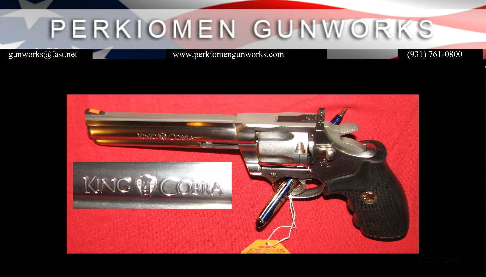 "King Cobra 6"" .357 - as Nib  Guns > Pistols > Colt Double Action Revolvers- Modern"