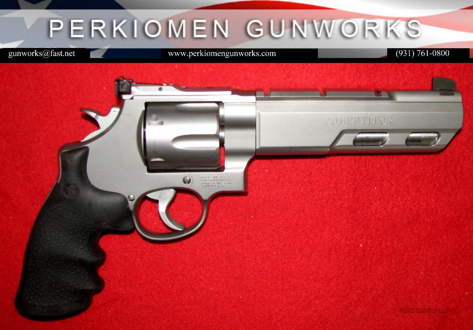 "629 PC Competitor, .44mag, 6"" Weighted bbl, NIB  Guns > Pistols > Smith & Wesson Revolvers > Performance Center"