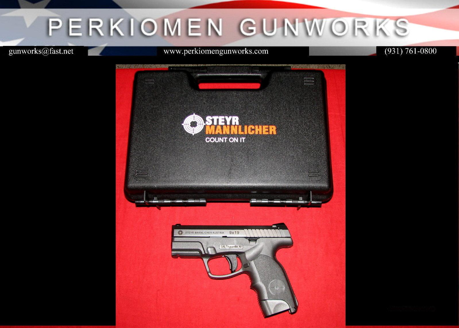 "C9-A1 Compact 9MM, 3.5"", New in Box.  Guns > Pistols > Steyr Pistols"