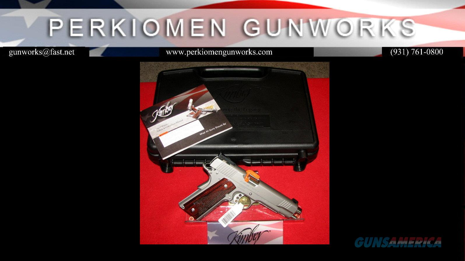 "Stainless Target, 9mm, 5"" (New Style for 2016) New in Box  Guns > Pistols > Kimber of America Pistols"