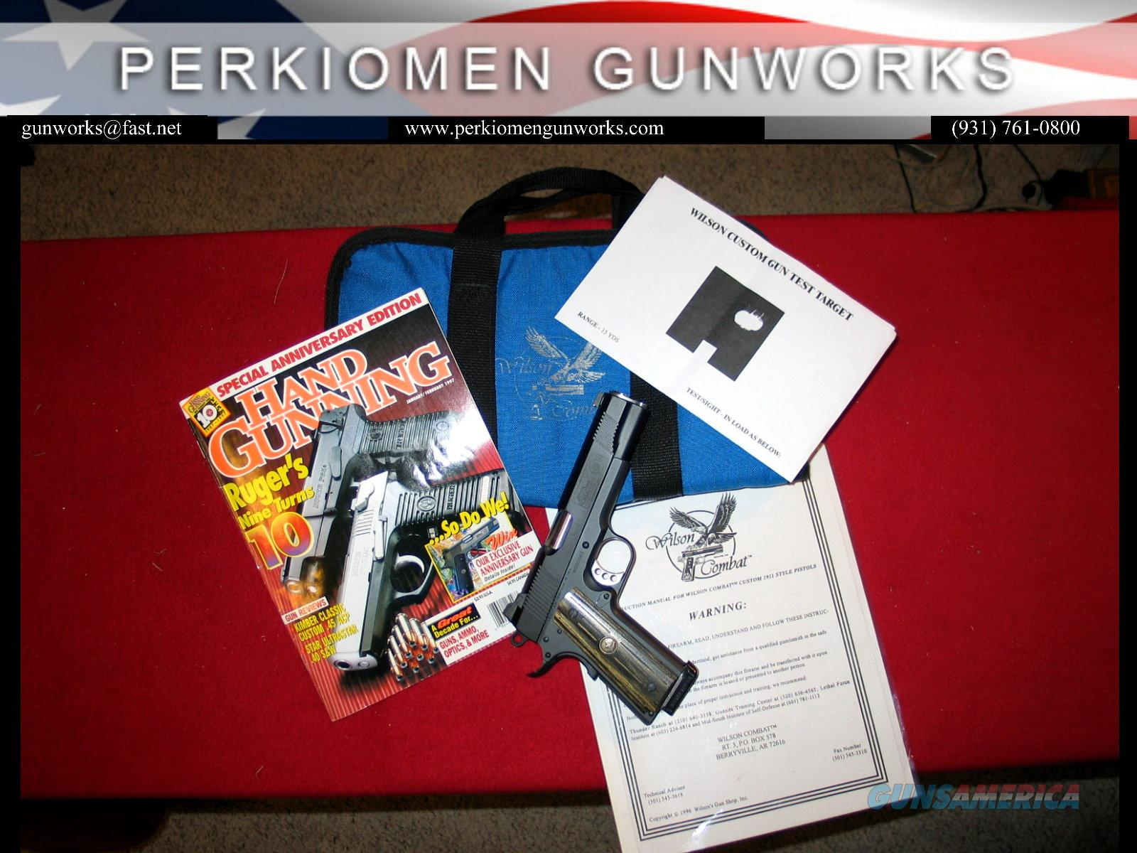 1996 A2 Sweepstakes Grand Prize for the Tenth Anniversary of Hand Gunning Magazine  Guns > Pistols > Wilson Combat Pistols