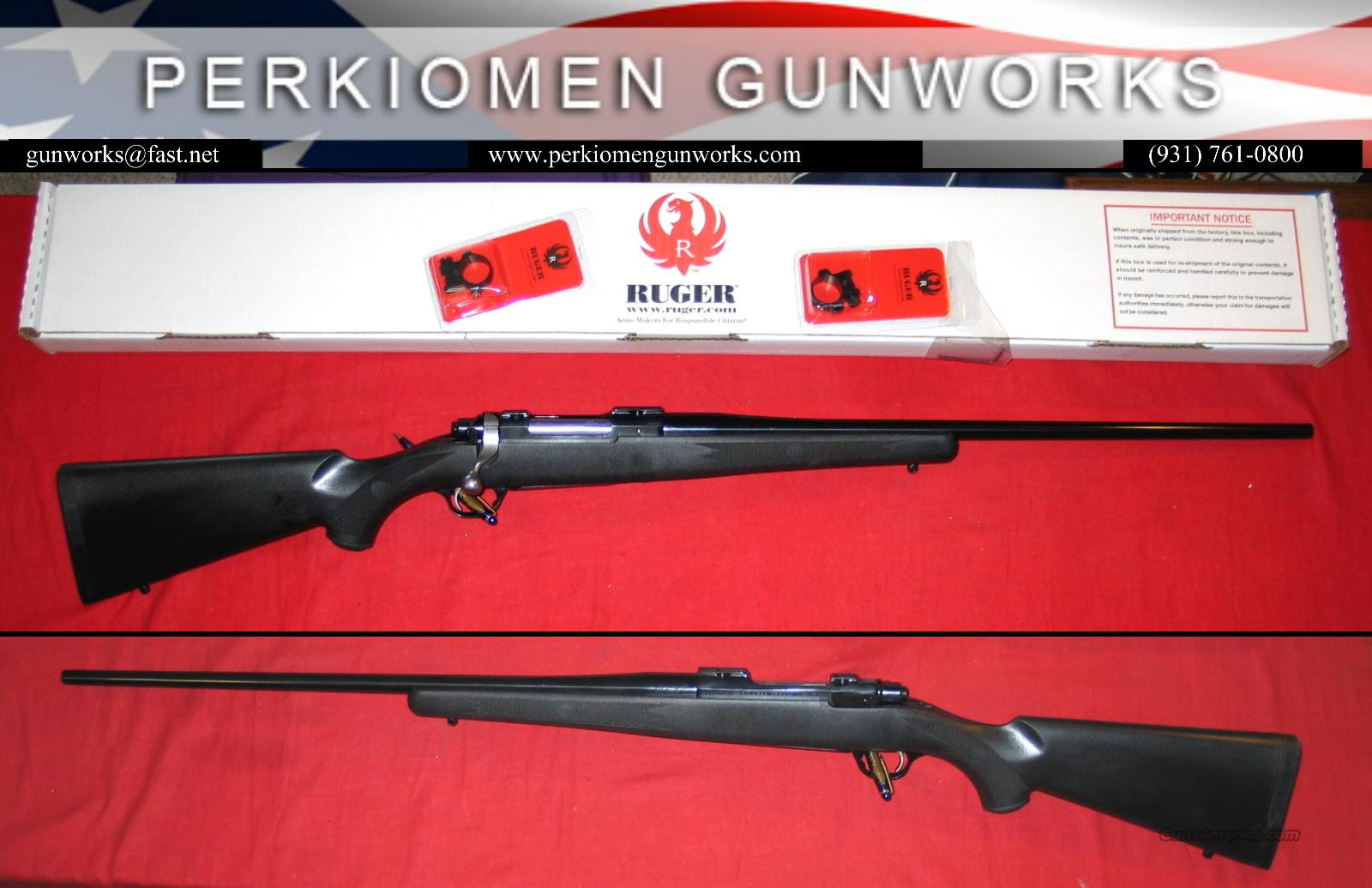 77 HE .220 Swift, Syn/Blued, NIB  Guns > Rifles > Ruger Rifles > Model 77