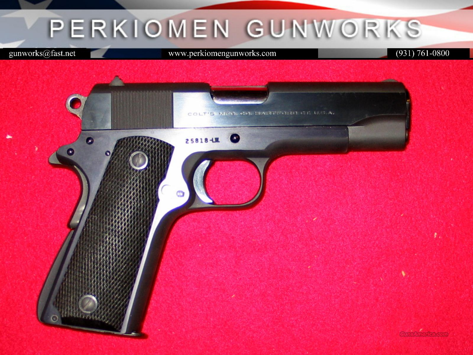 Pre-70 Series Commander .38 Super, as new  Guns > Pistols > Colt Automatic Pistols (1911 & Var)