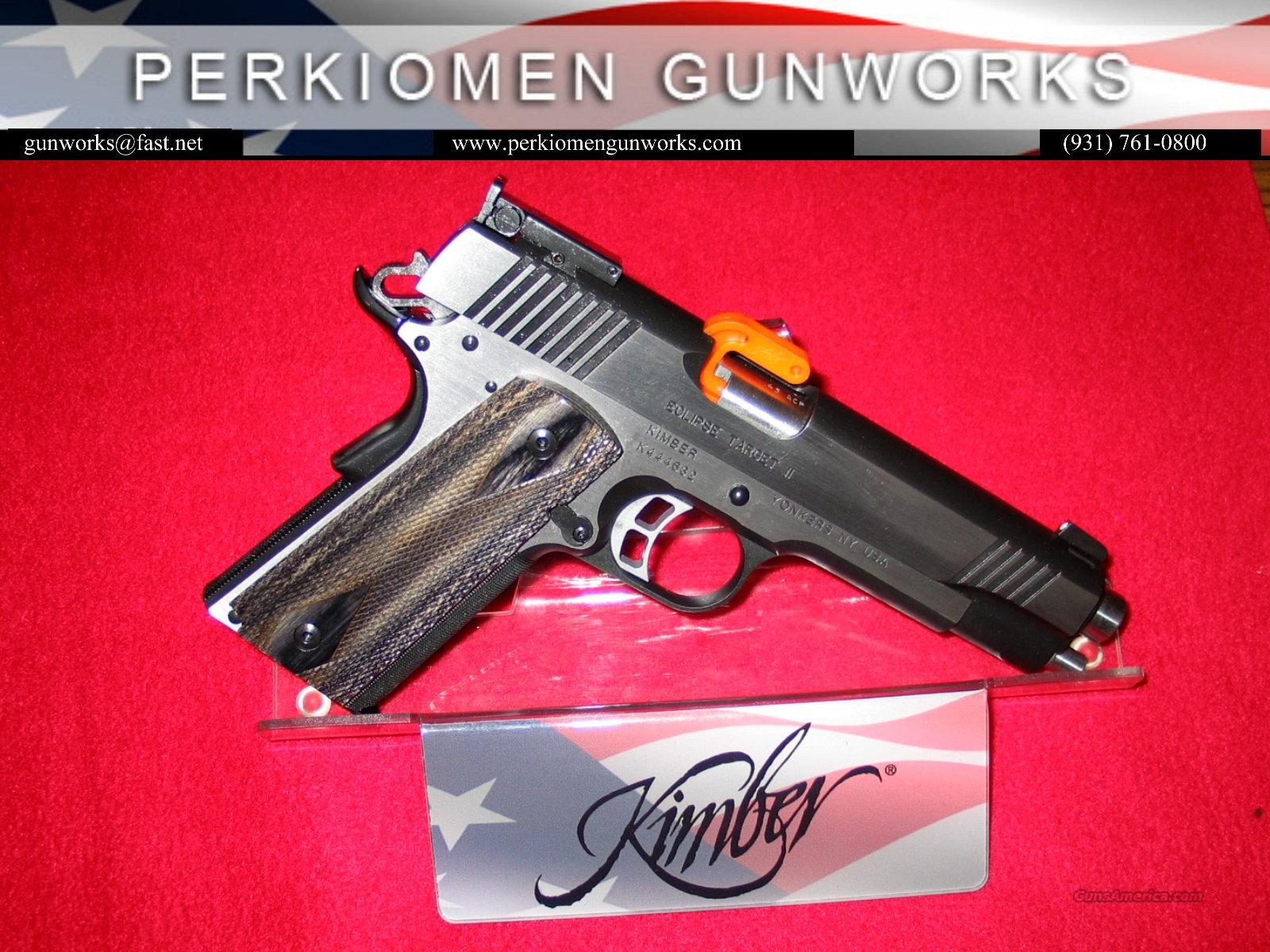 "Eclipse Target II, 45acp, 5"", New in Box.  Guns > Pistols > Kimber of America Pistols"
