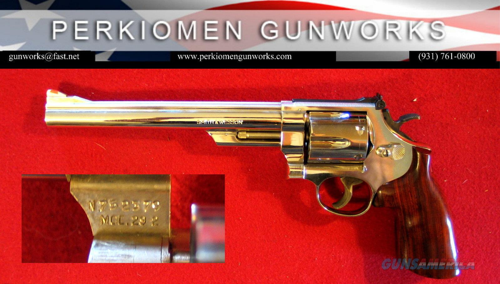 "M-29-2, 44mag, 8 3/8 inch, ""The .44 Magnum"", Nickel  Guns > Pistols > Smith & Wesson Revolvers > Full Frame Revolver"