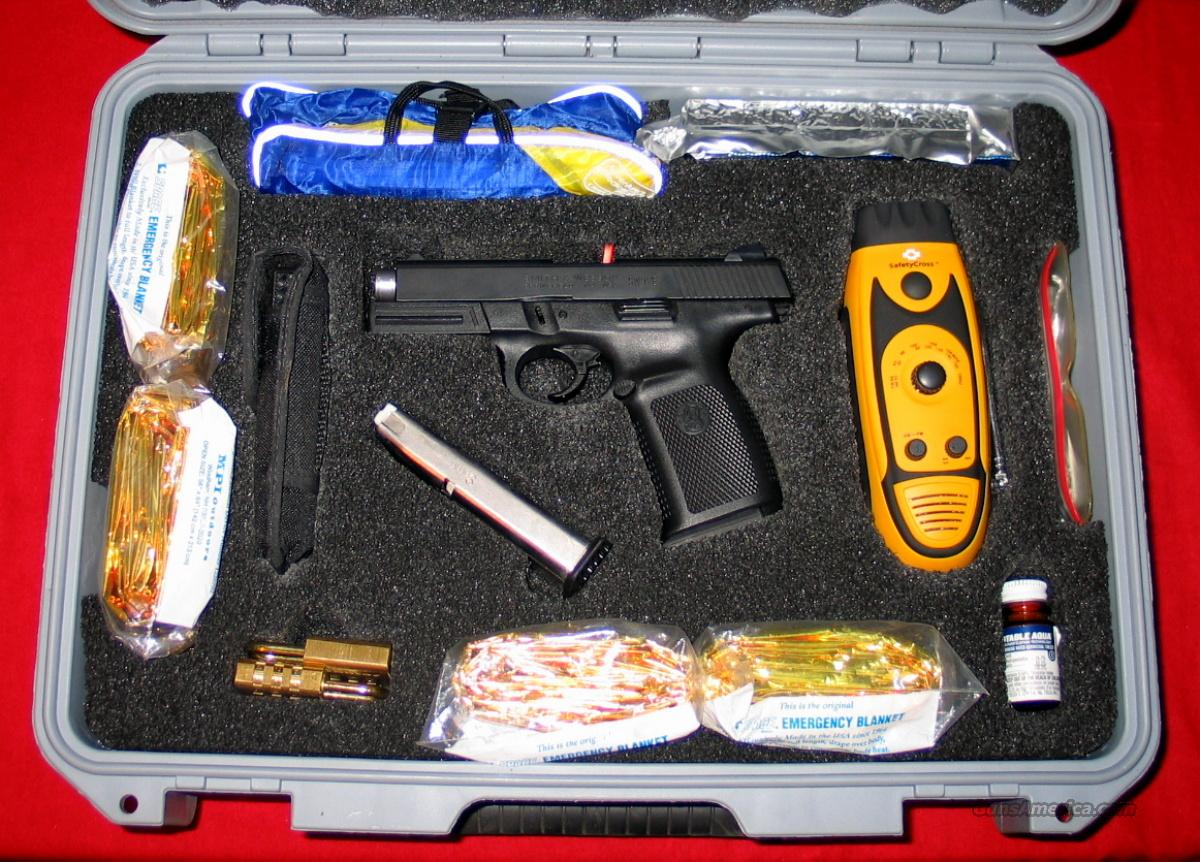 40VE Disaster Kit - NIB - Damn Good Idea!!  Guns > Pistols > Smith & Wesson Pistols - Autos > Polymer Frame
