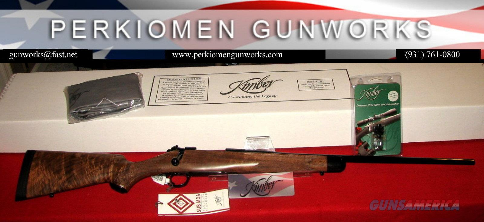 84M SUPER AMERICA 7mm-08 Rem, New in Box, w/Free Super America Bases  Guns > Rifles > Kimber of America Rifles