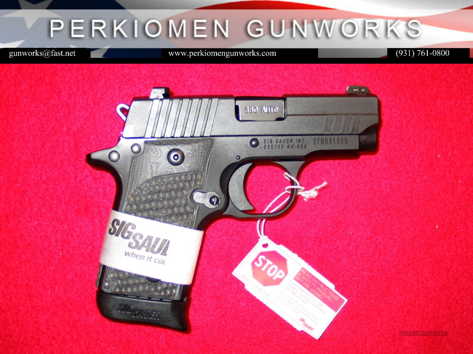 P238 Extreme .380, Nite Sights, New in Box  Guns > Pistols > Sig - Sauer/Sigarms Pistols > P238