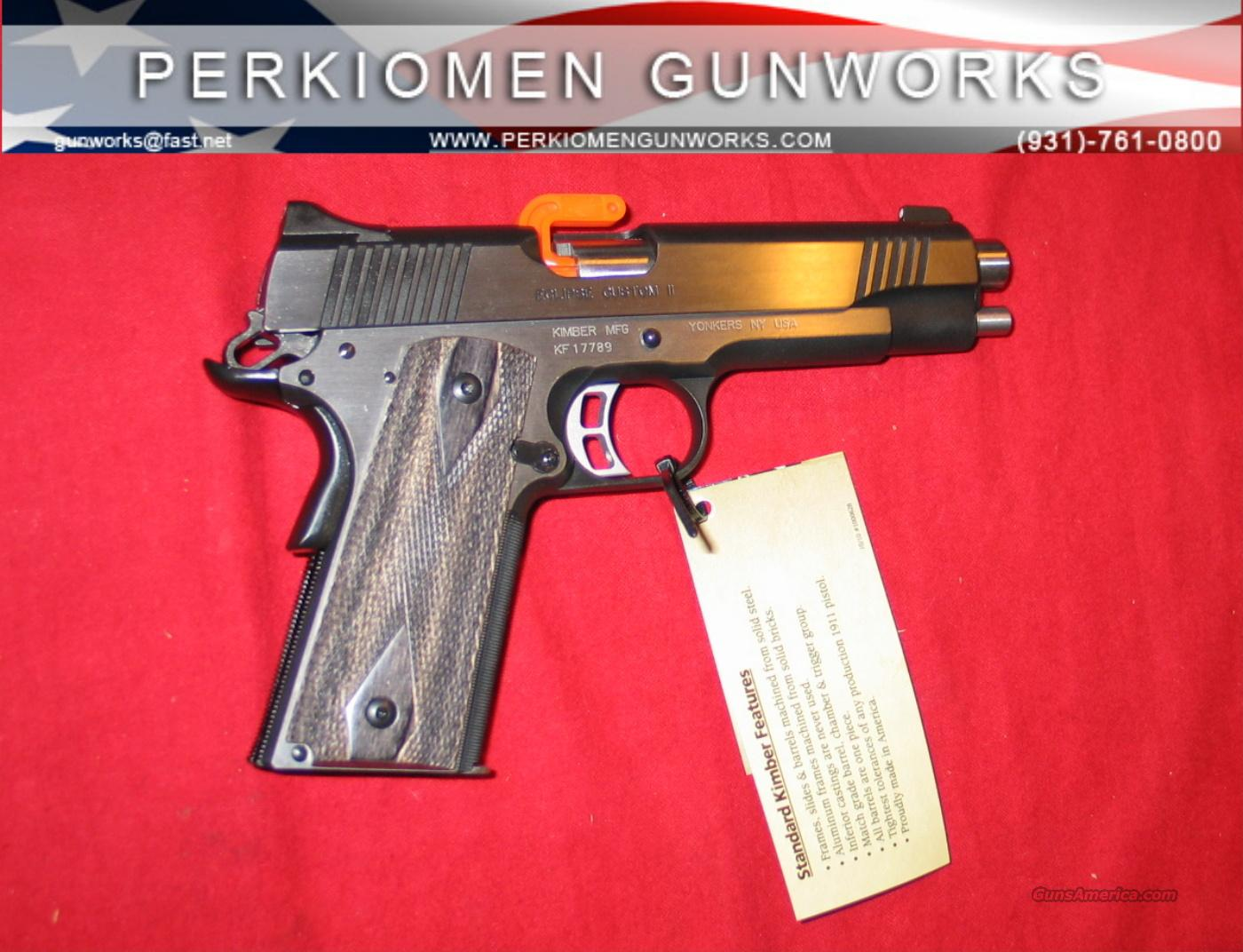 "Eclipse Custom in 10MM, 5"", NIB and hard to find!  Guns > Pistols > Kimber of America Pistols"