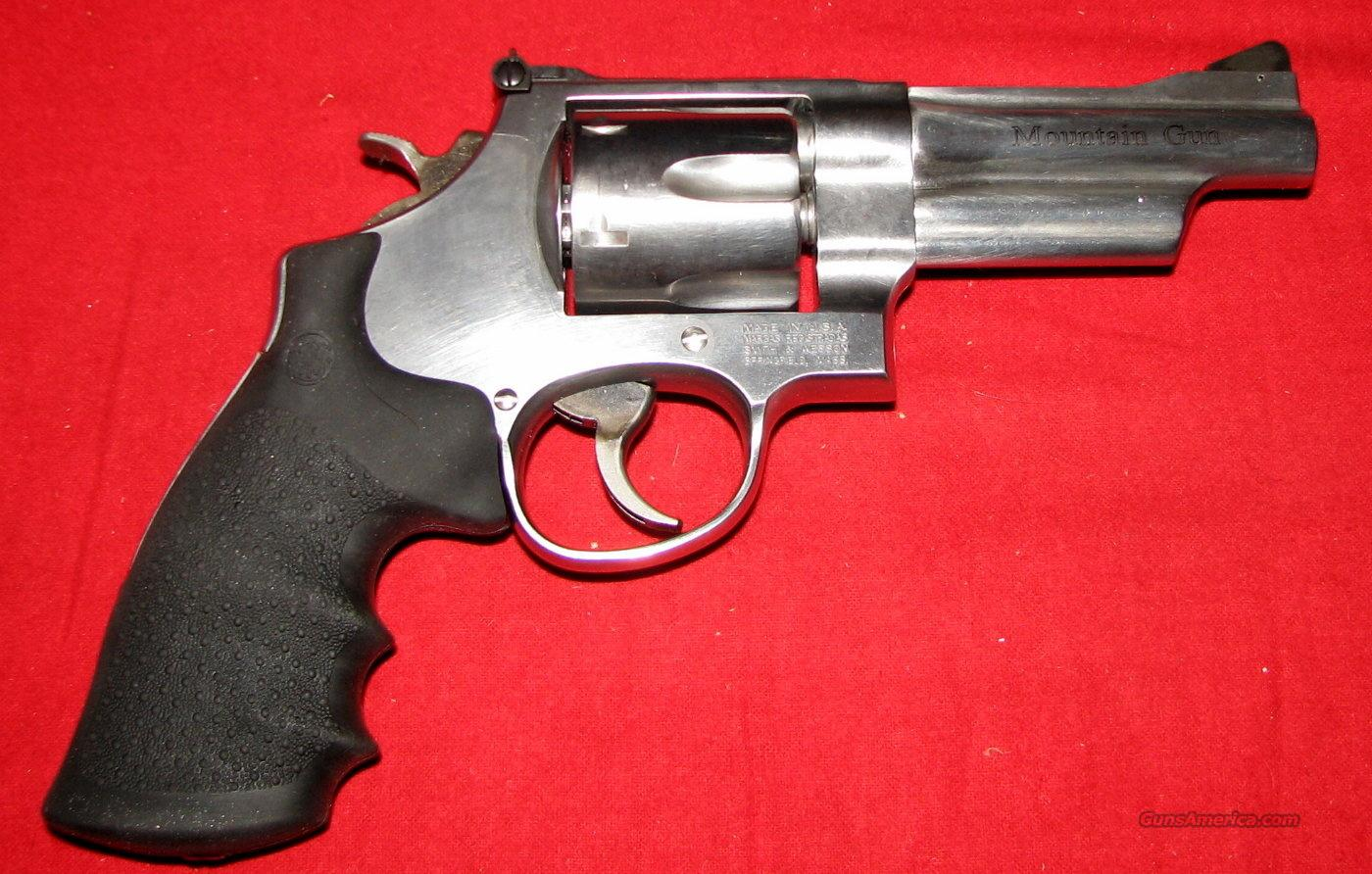 "625 45LC, Mountain Gun, 4"", NIB  Guns > Pistols > Smith & Wesson Revolvers > Full Frame Revolver"