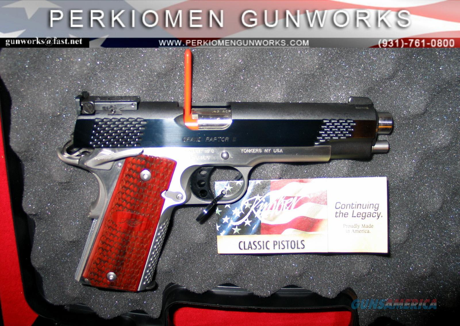 Grand Raptor .45acp - New in Box  Guns > Pistols > Kimber of America Pistols