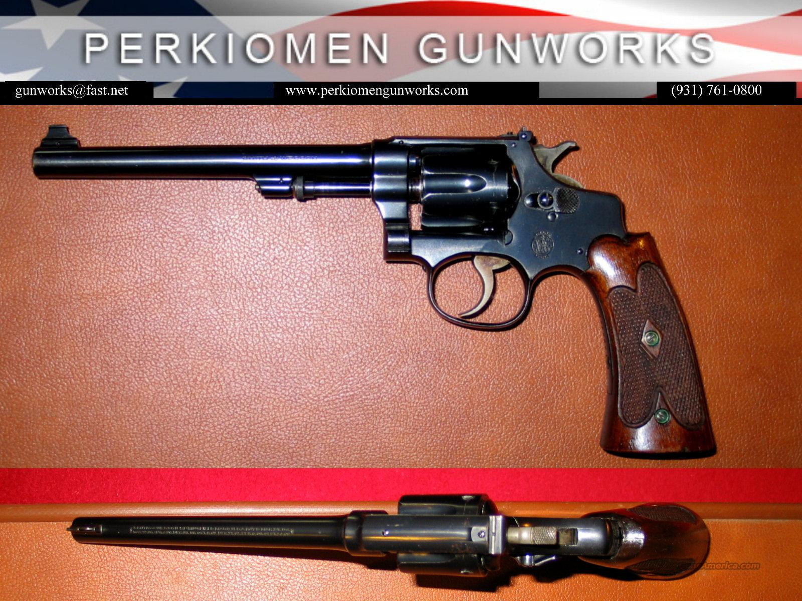 .22/32 Hand Ejector / Bekeart Model, .22LR - Excellent!  Guns > Pistols > Smith & Wesson Revolvers > Pre-1945