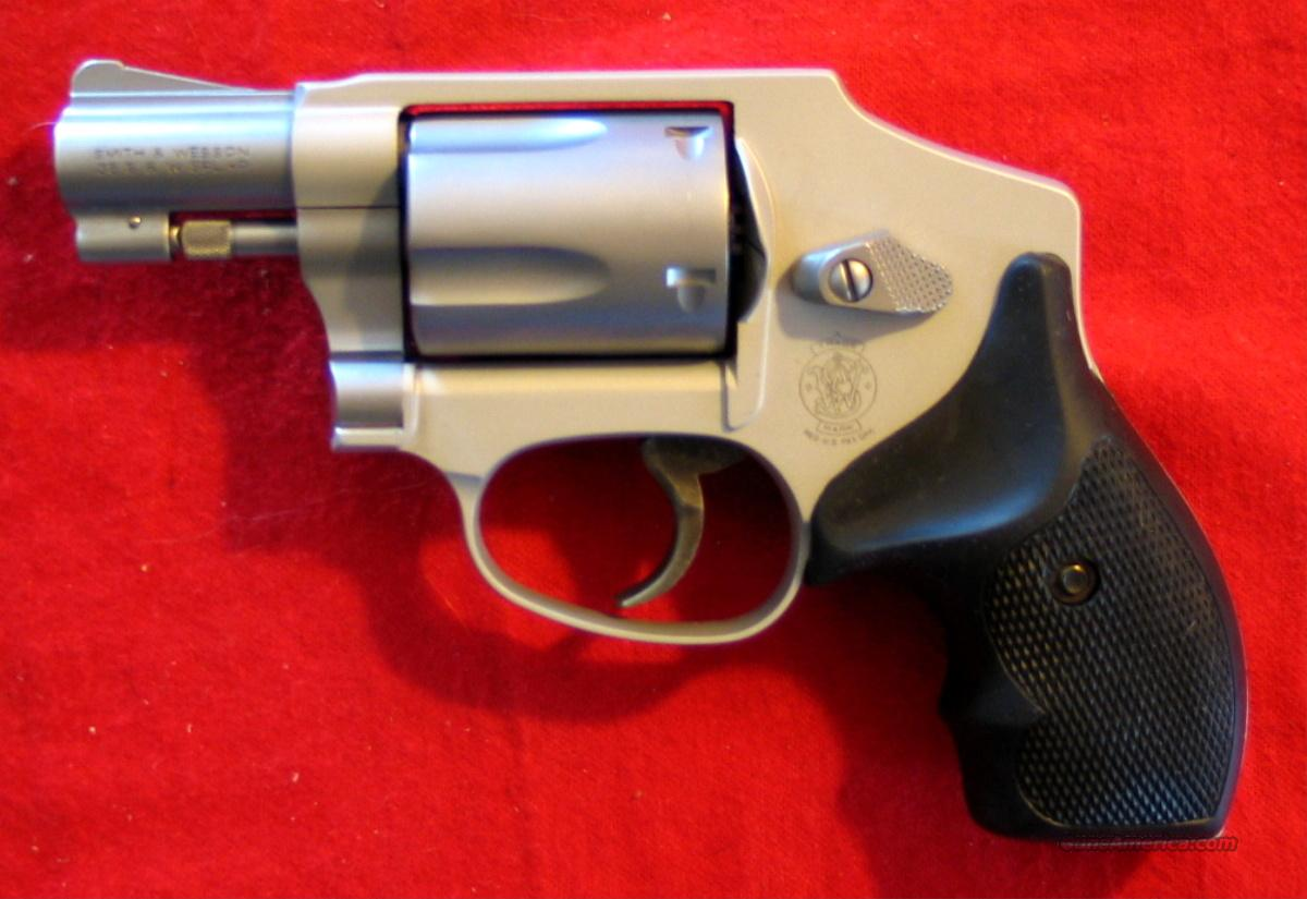 642-1 38Spec W/O Internal Lock  Guns > Pistols > Smith & Wesson Revolvers > Pocket Pistols