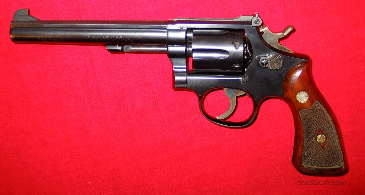 K-38 Target Masterpiece (Pre-14) 1954 5-screw  Guns > Pistols > Smith & Wesson Revolvers > Full Frame Revolver