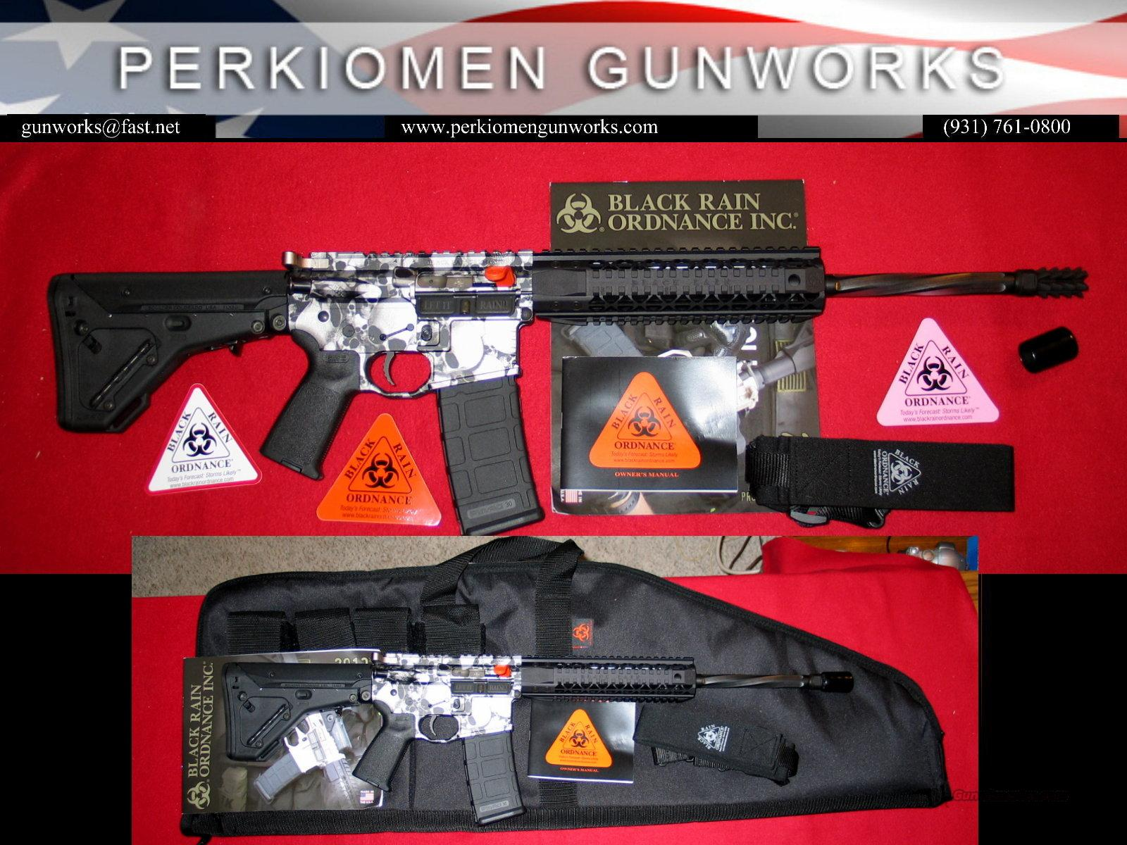 "Black Rain PG-3 ""SKULLS"" .223/5.56, 16"", New in Box  Guns > Rifles > AR-15 Rifles - Small Manufacturers > Complete Rifle"