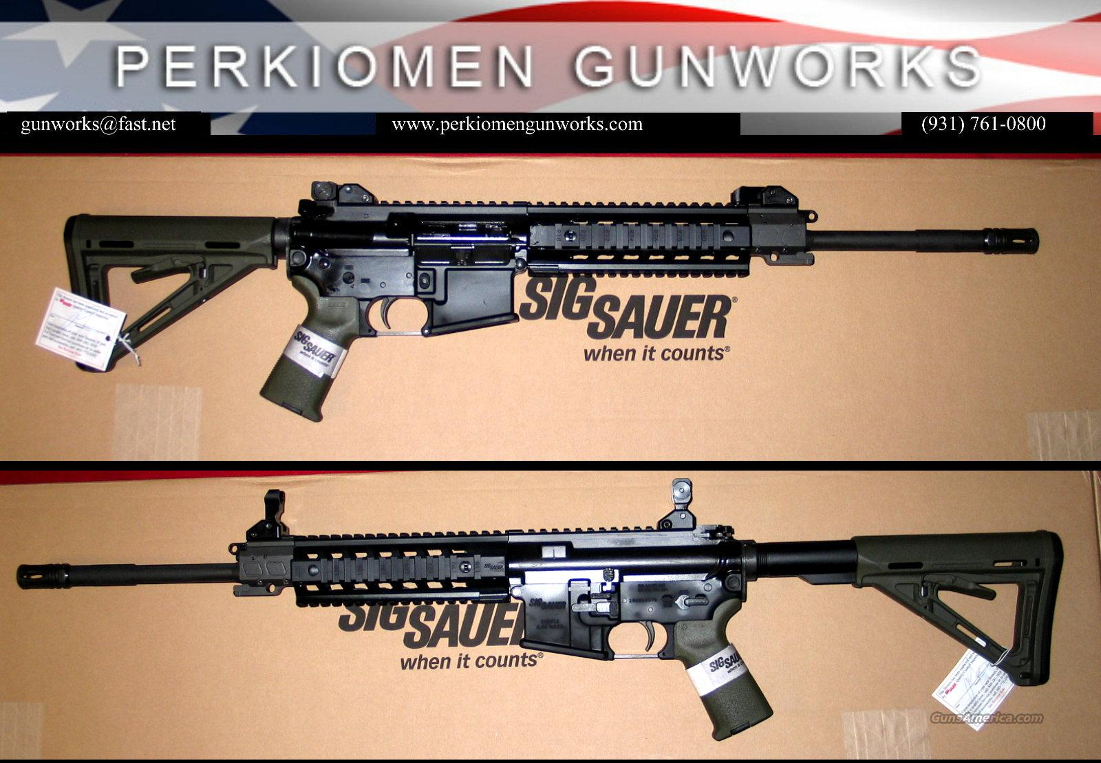 516 Patrol Gen 2, 5.56, ODG Grip & Stock-New in Box  Guns > Rifles > Sig - Sauer/Sigarms Rifles