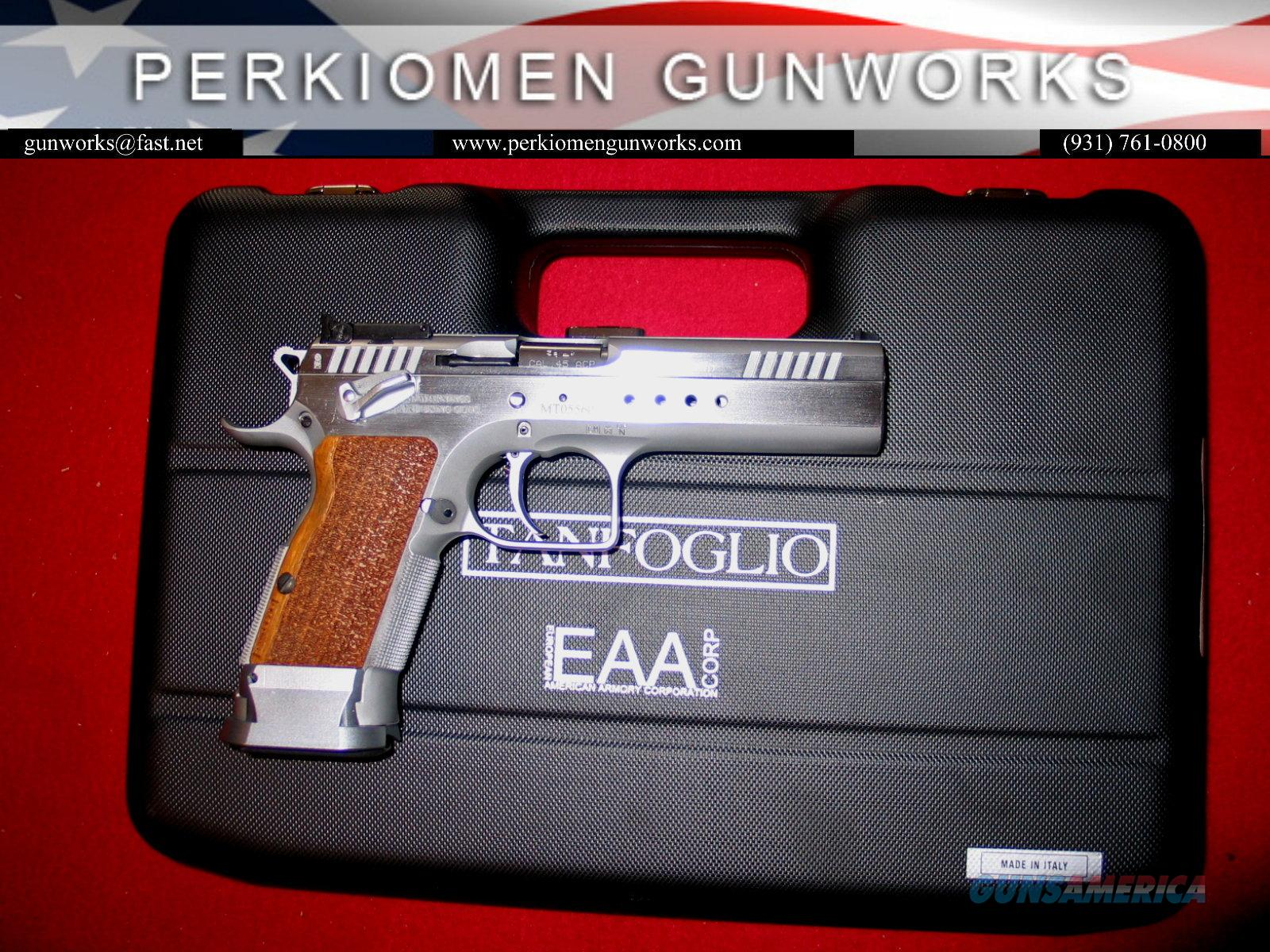 Witness / Tanfoglio Elite LIMITED, 45acp, 5 inch, #600340, NIB  Guns > Pistols > EAA Pistols > Other