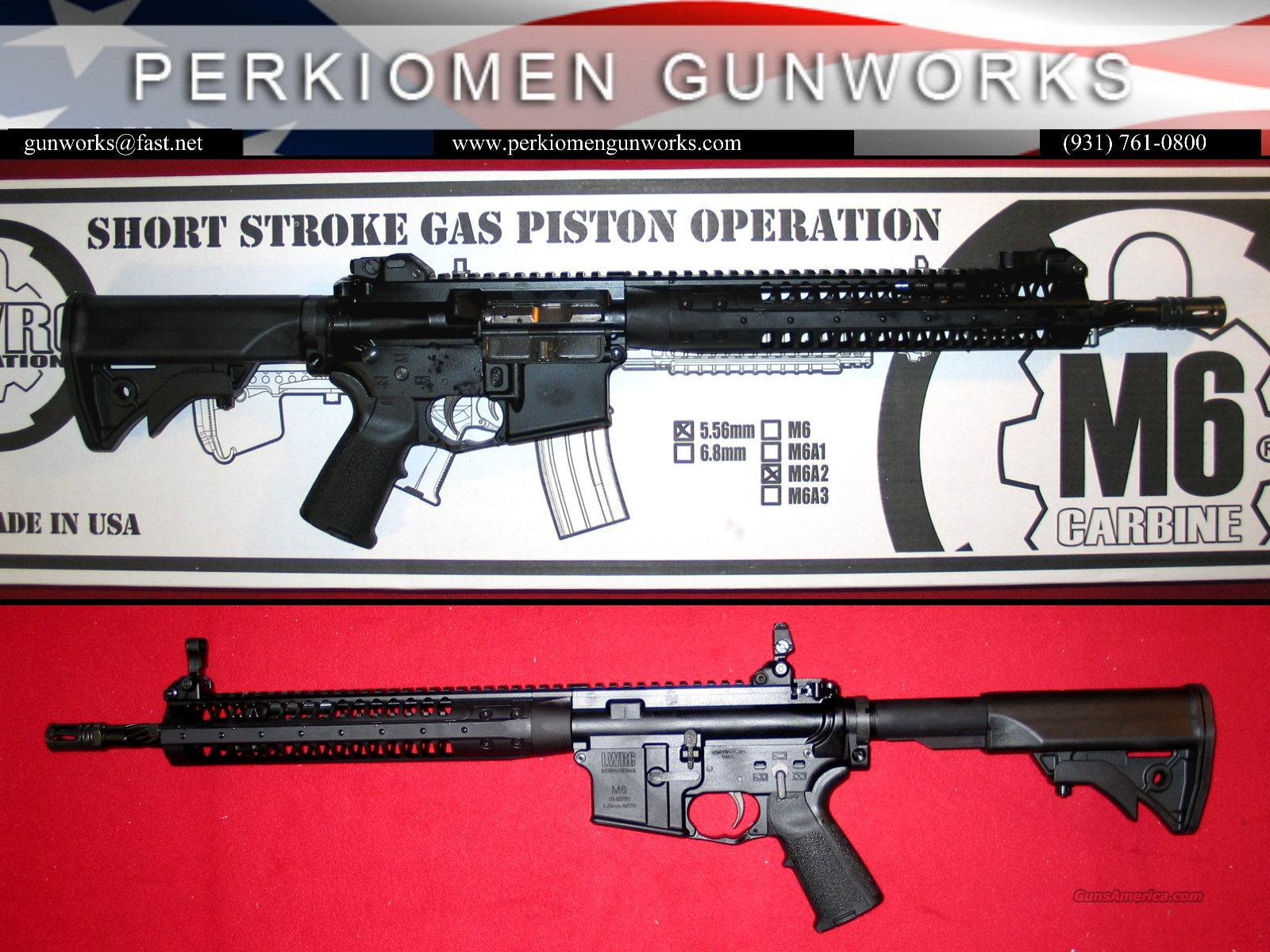 "LWRCI M6A2 SRP 14.7"", 5.56 - NIB  Guns > Rifles > AR-15 Rifles - Small Manufacturers > Complete Rifle"