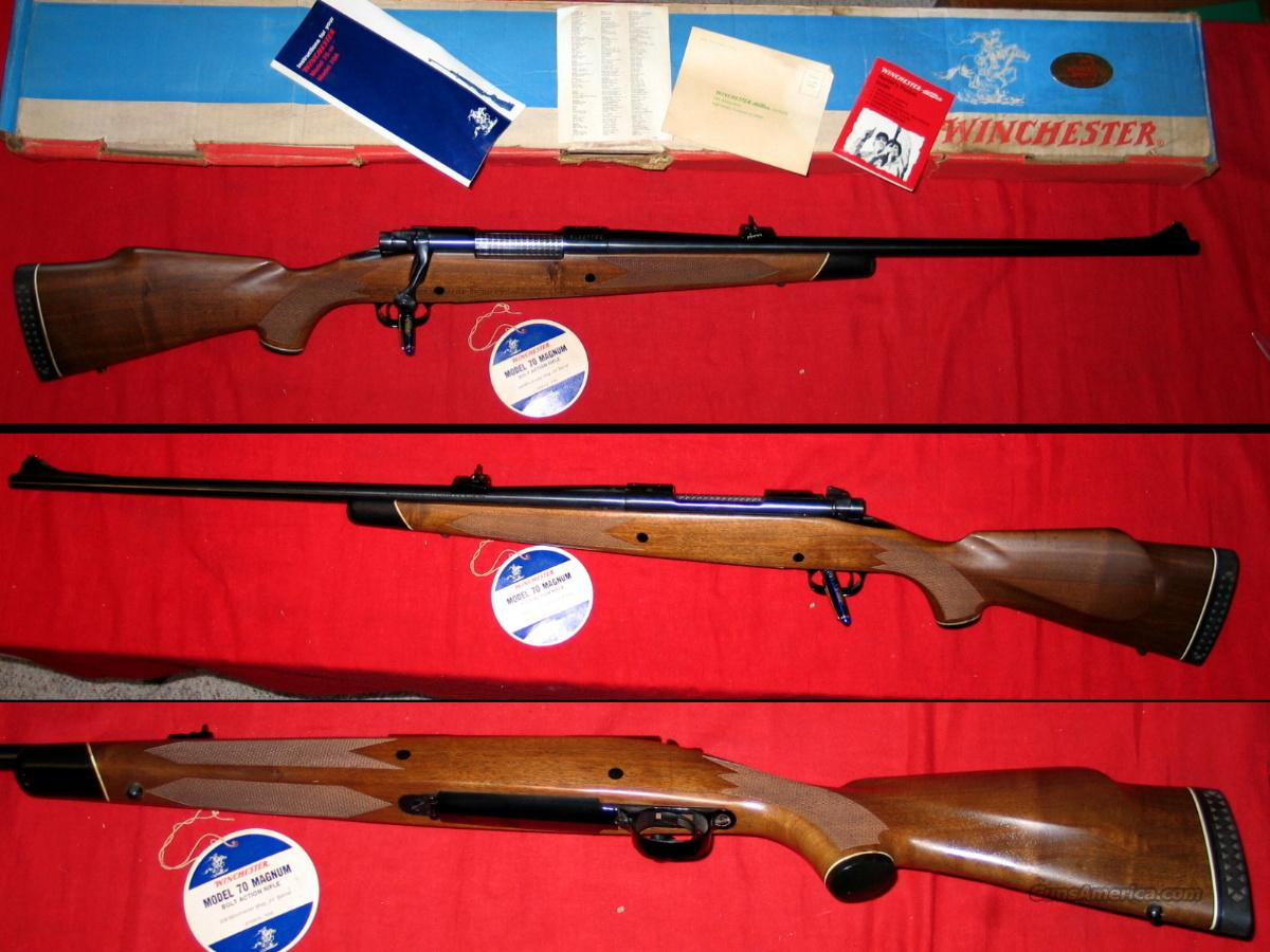 70 Post-64 .338 1977 gun as new  Guns > Rifles > Winchester Rifles - Modern Bolt/Auto/Single > Model 70 > Post-64