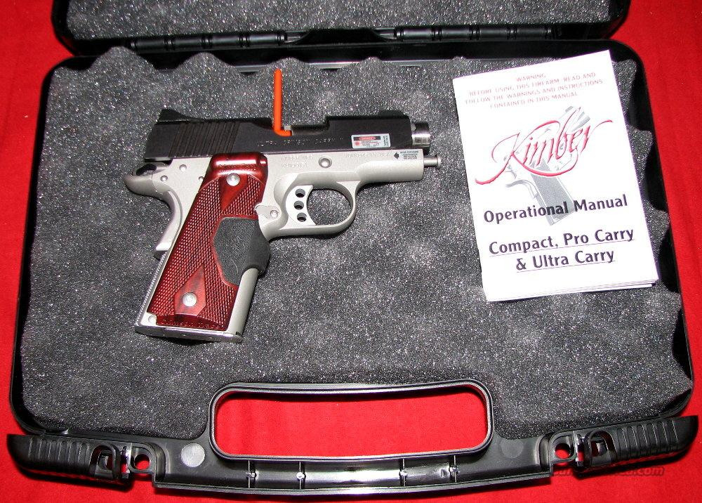 Ultra Crimson Carry II, 45acp, NIB  Guns > Pistols > Kimber of America Pistols