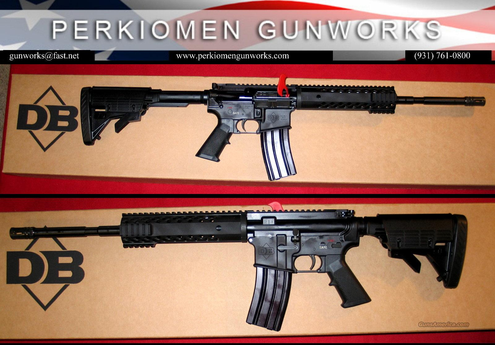 Diamondback DB-15B, 5.56, carbine - NIB  Guns > Rifles > AR-15 Rifles - Small Manufacturers > Complete Rifle