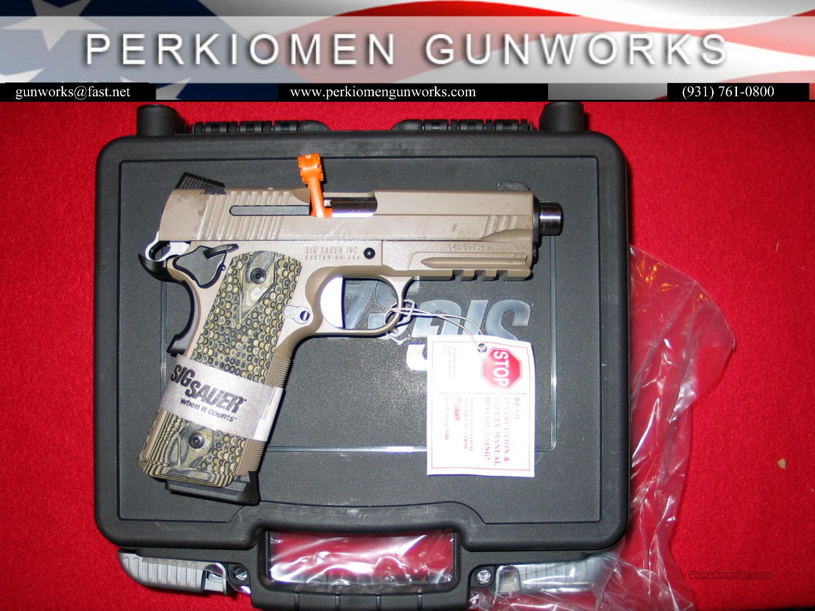 "1911 Carry Scorpion, 45acp, 4.2"", New in Box  Guns > Pistols > Sig - Sauer/Sigarms Pistols > 1911"