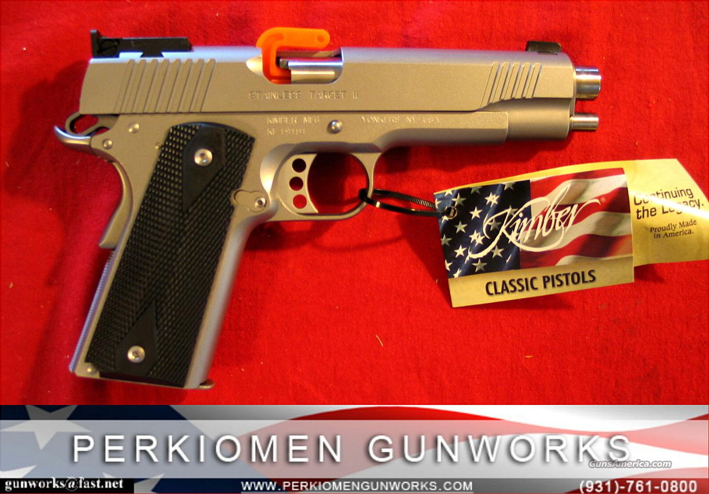 "Stainless Target, .38 Super, 5"", New in Box  Guns > Pistols > Kimber of America Pistols"