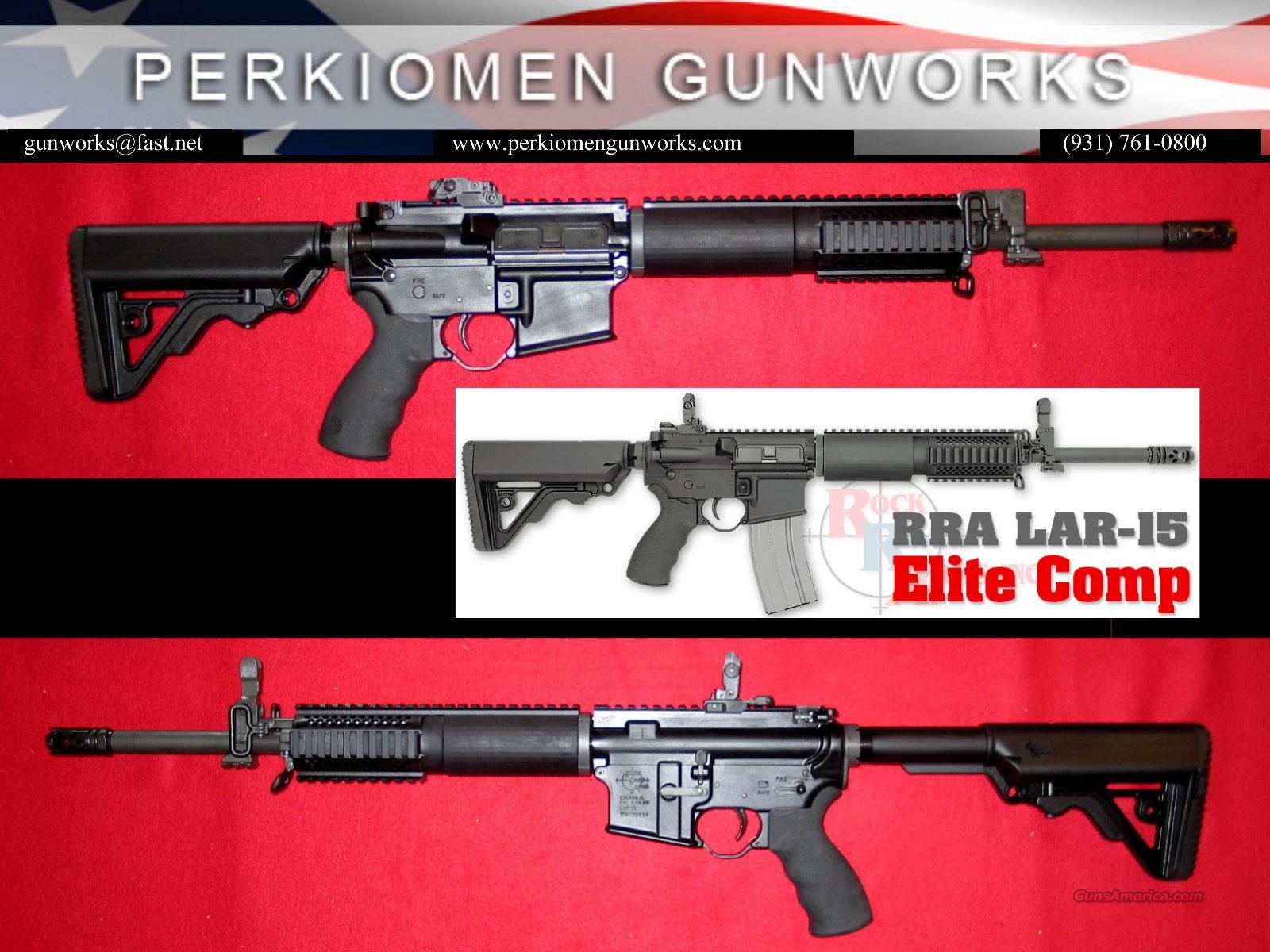 Elite Comp Mid-Length Carb. LAR-15 w/Chrome options - New in Box  Guns > Rifles > Rock River Arms Rifles