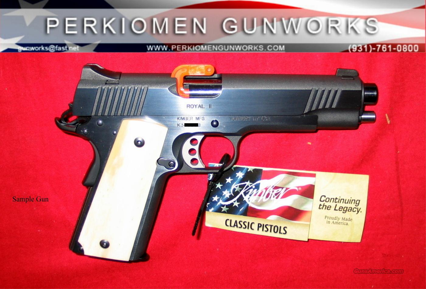 Royal II - New Issue - New in Box  Guns > Pistols > Kimber of America Pistols