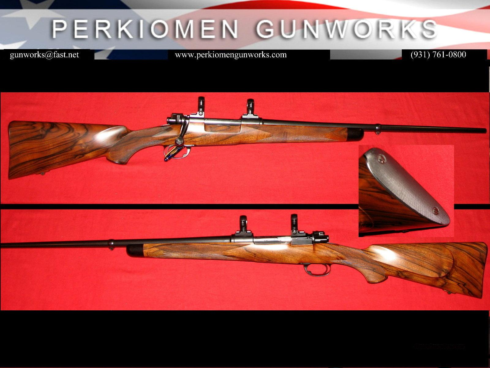 PENROD / GOUDY Custom Mauser Mt. Gun in .280 REM  Guns > Rifles > Custom Rifles > Bolt Action