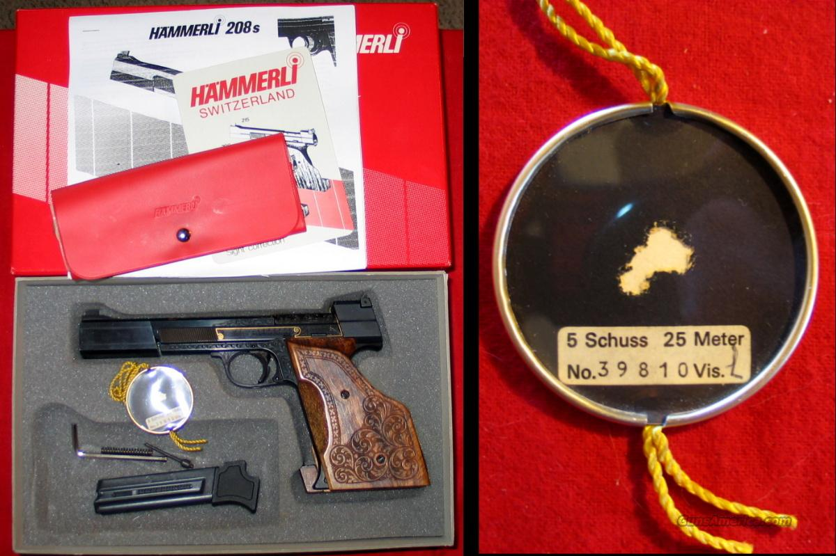 International Model 208 Deluxe - asnib  Guns > Pistols > Hammerli Pistols