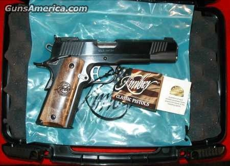 Anniversary Gold Match / Series 1  Guns > Pistols > Kimber of America Pistols