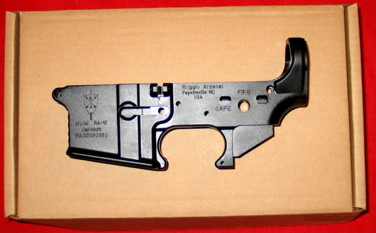 Roggio Arsenal  AR stripped lower receiver, NIB - Made in USA!!!  Guns > Rifles > AR-15 Rifles - Small Manufacturers > Lower Only