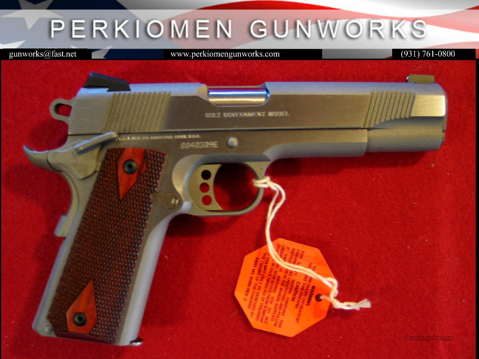 "Government XSE Series 1911, 45acp, 5 "" Stainless - NIB  Guns > Pistols > Colt Automatic Pistols (1911 & Var)"