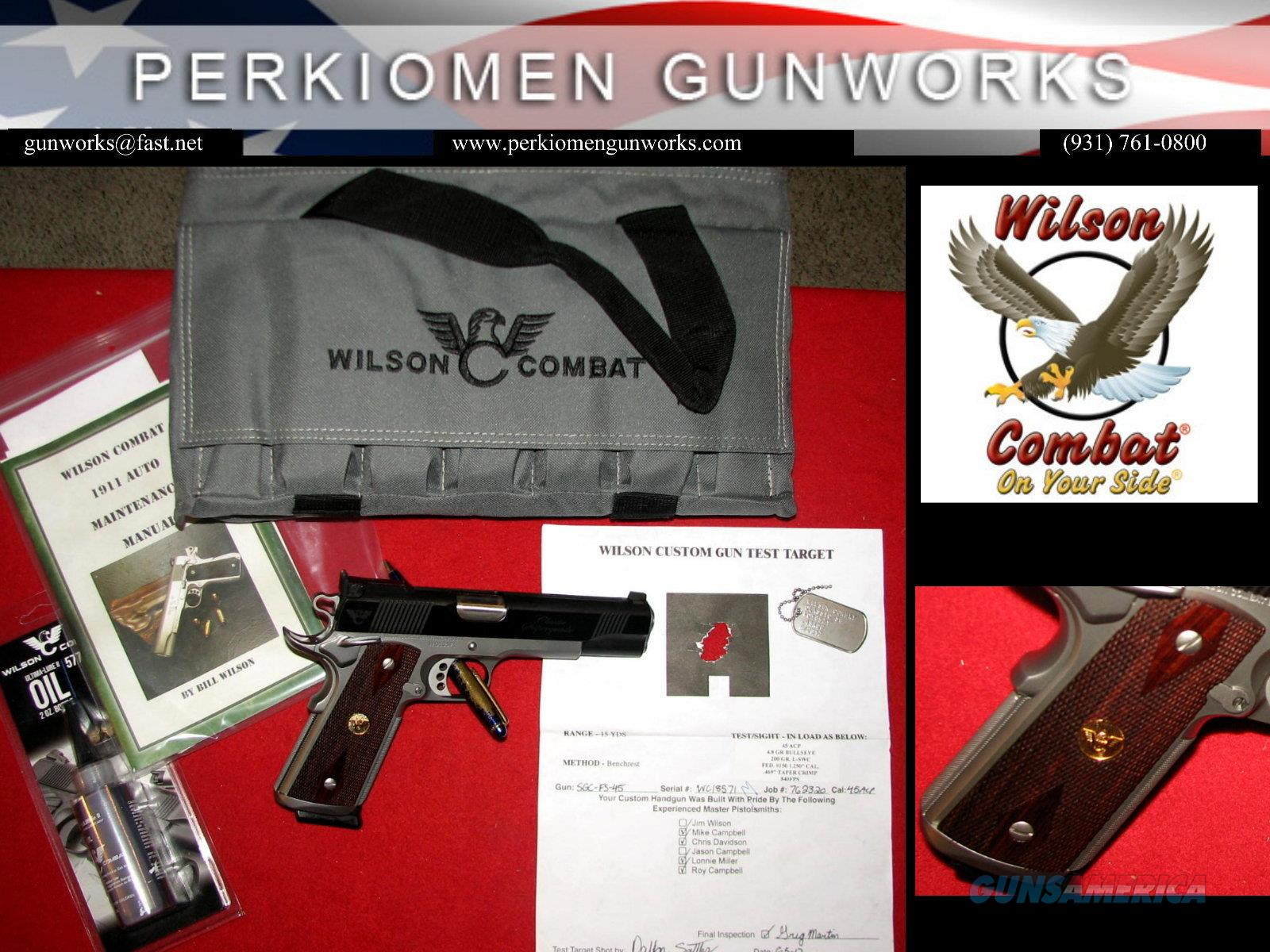 Classic SuperGrade, Two-Tone w/options - New in Box  Guns > Pistols > Wilson Combat Pistols