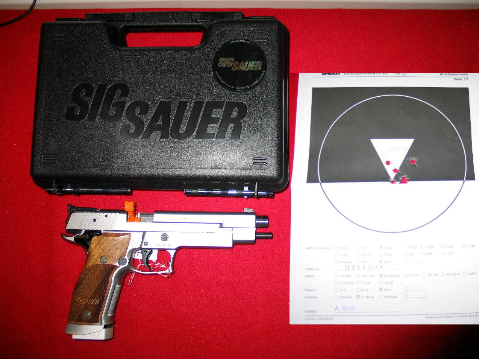 "226 X6-9-L1 9MM, 6"" MasterShop Target - New in Box.  Guns > Pistols > Sig - Sauer/Sigarms Pistols > P226"