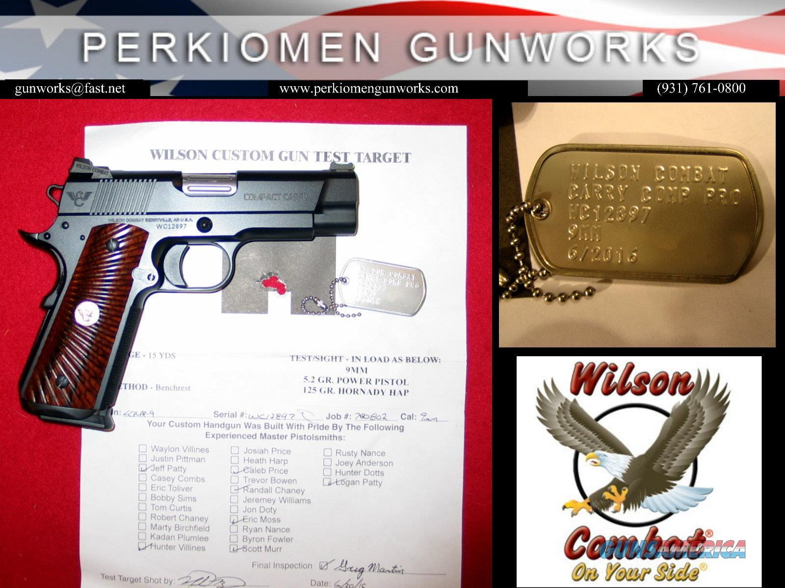 Compact Carry Professional 9MM with Options - NEW  Guns > Pistols > Wilson Combat Pistols