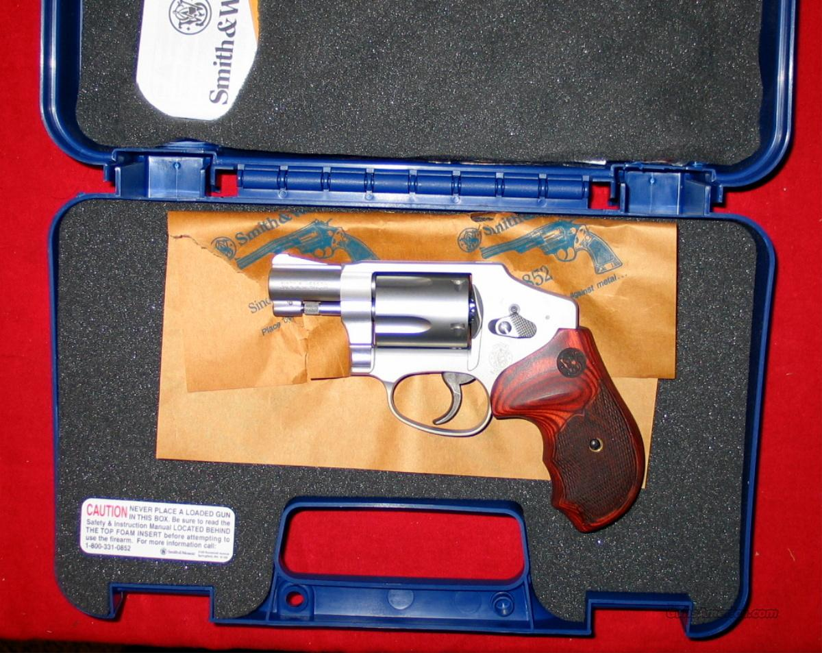 642 Talo Dlx Limited Edition .38+P  Guns > Pistols > Smith & Wesson Revolvers > Pocket Pistols