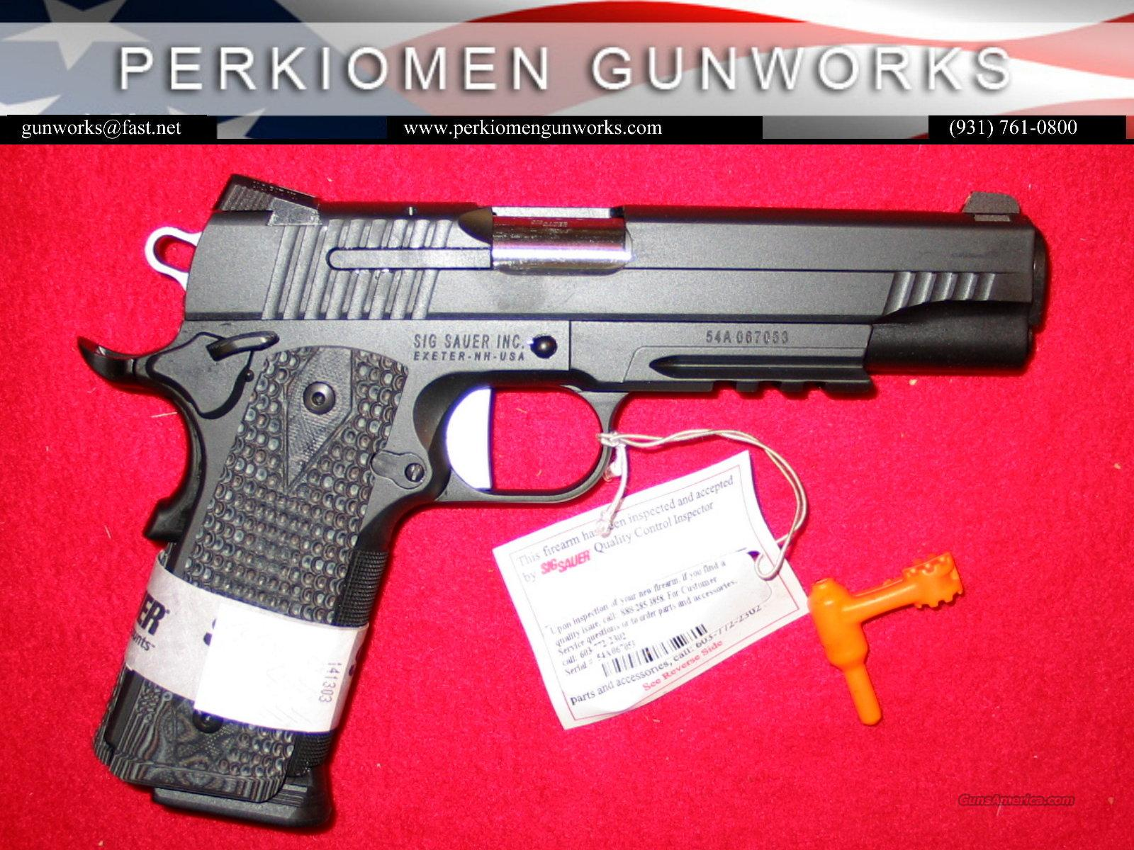 "1911 Extreme, 45acp, 5"", Black & Gray, New in Box  Guns > Pistols > Sig - Sauer/Sigarms Pistols > 1911"