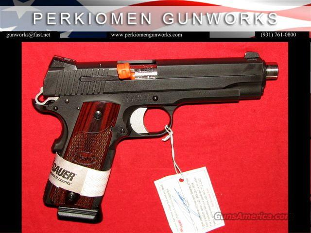 "1911 Nitron 45acp, 5"", Night Sights, NIB  Guns > Pistols > Sig - Sauer/Sigarms Pistols > 1911"