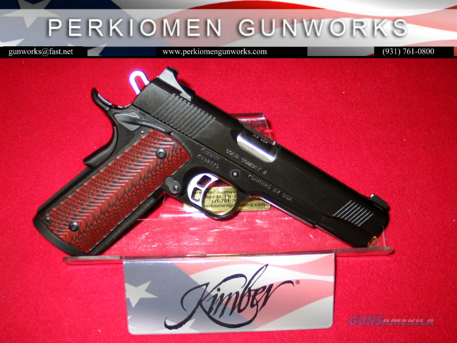Gold Combat .45acp - Used Like new - w/extra mag.  Guns > Pistols > Kimber of America Pistols > 1911