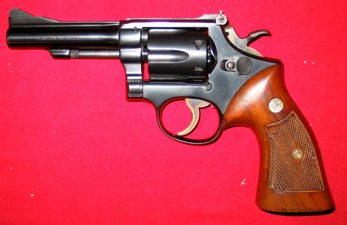 K-38 Combat Masterpiece (Pre-15) 5-Screw  Guns > Pistols > Smith & Wesson Revolvers > Full Frame Revolver