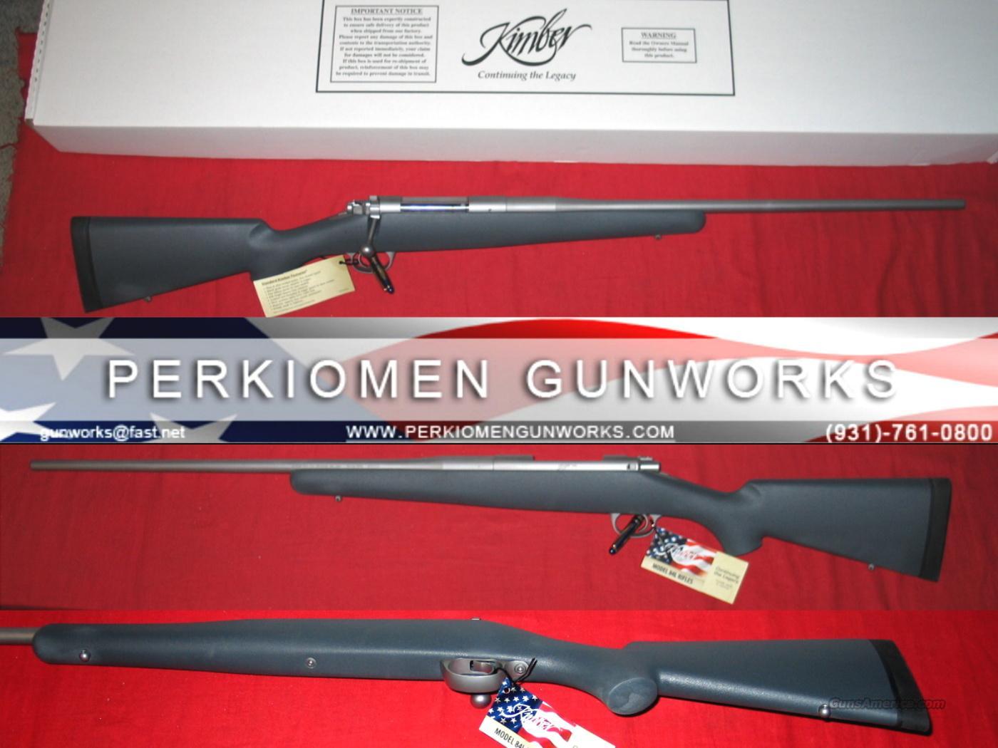 84L Montana 30-06, New in Box.  Guns > Rifles > Kimber of America Rifles
