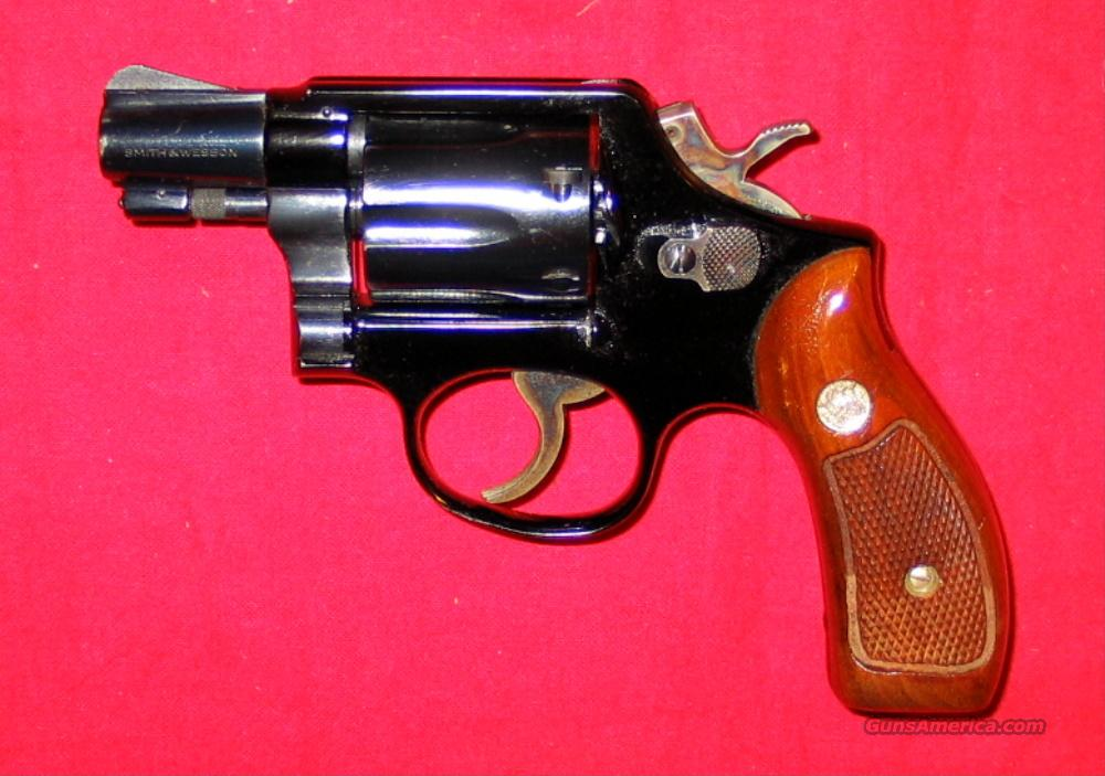 "12-2 Airweight 2"" Blue - used 1974 gun  Guns > Pistols > Smith & Wesson Revolvers > Full Frame Revolver"