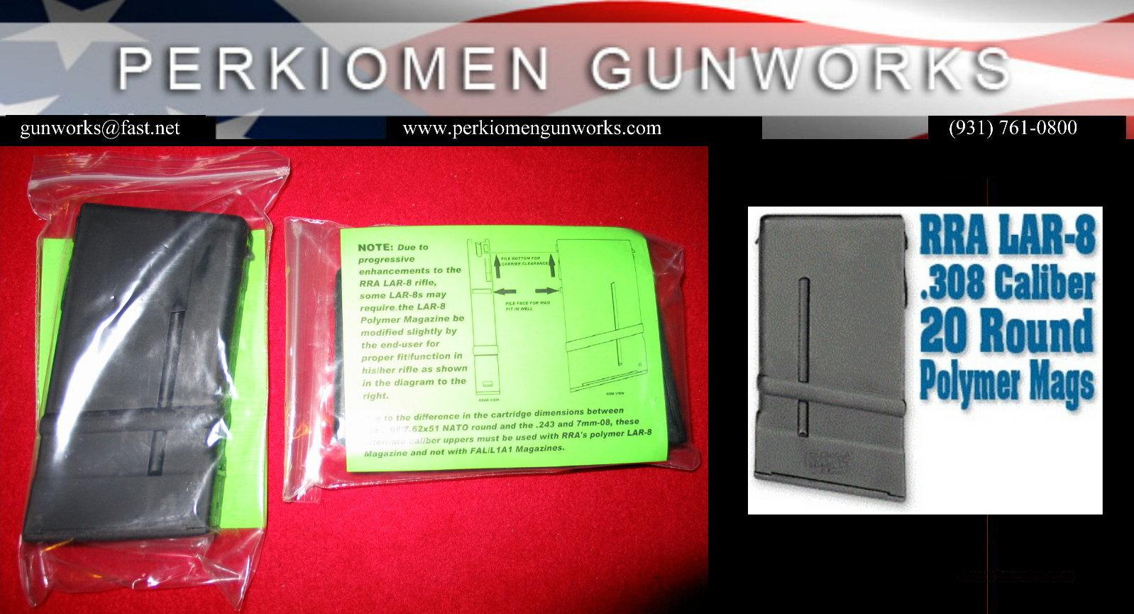 Rock River LAR-8 20rd, 308 mag  Non-Guns > Magazines & Clips > Rifle Magazines > Other