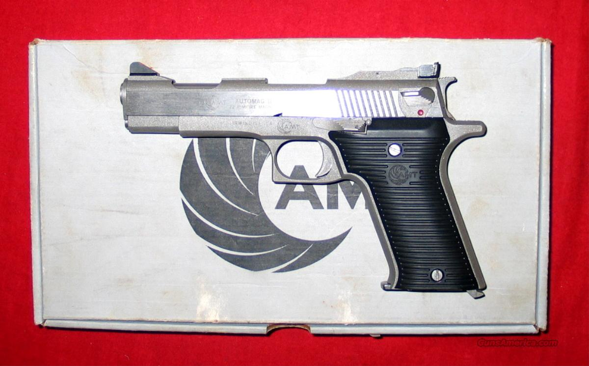 "Automag II .22mag 4.5"" SS  Guns > Pistols > AMT Pistols > Other"
